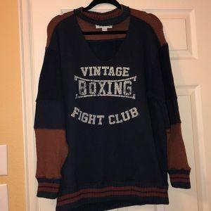 Vintage Havana Choker Sweatshirt